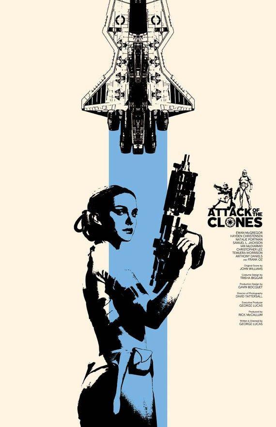 Cartel de la película Attack of the Clones