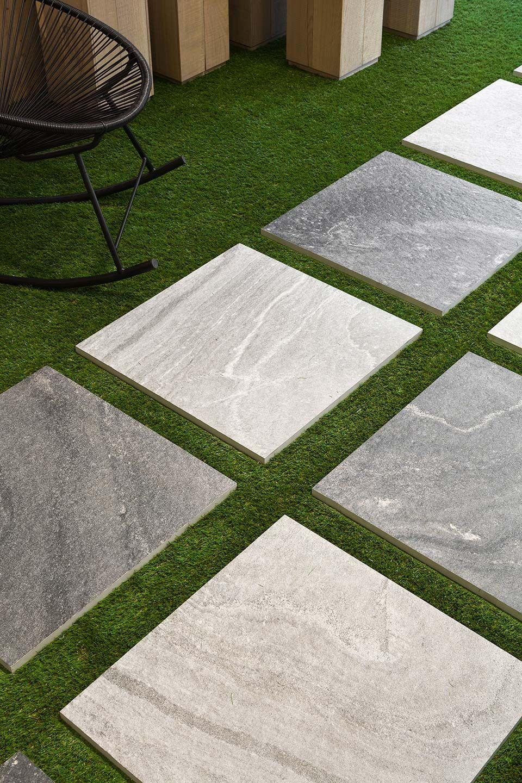 Piastrelle autoposanti per esterni collezione tech 2 di floor gres pavimenti rivestimenti - Piastrelle floor gres ...