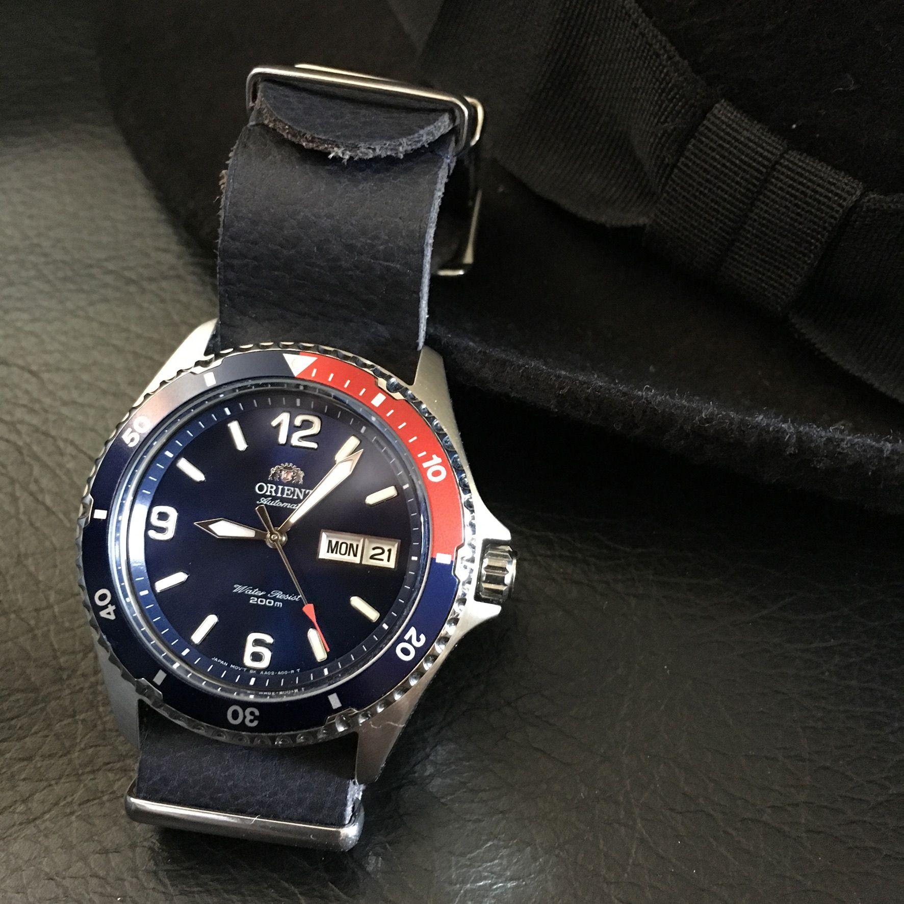 Orient Mako II, Pepsi bezel | Watches, Fountain Pens + in 2019