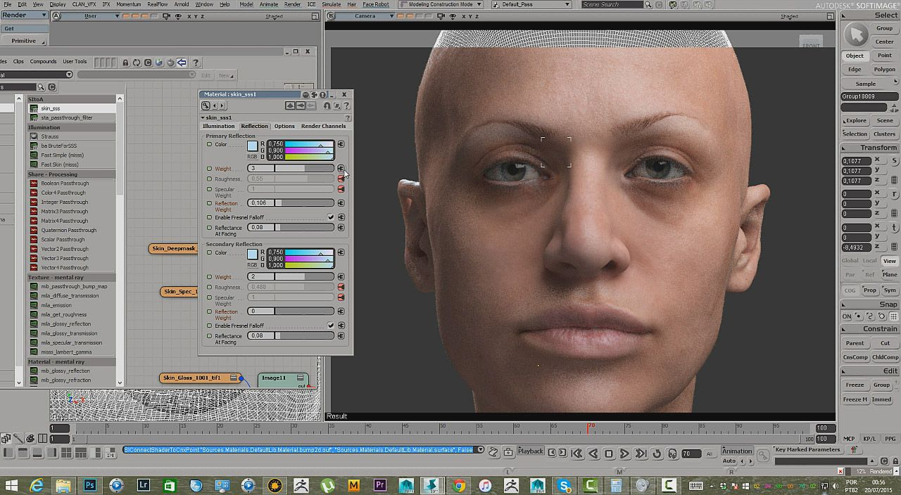 Painting a Realistic Skin Texture in Mari Painting a Realistic