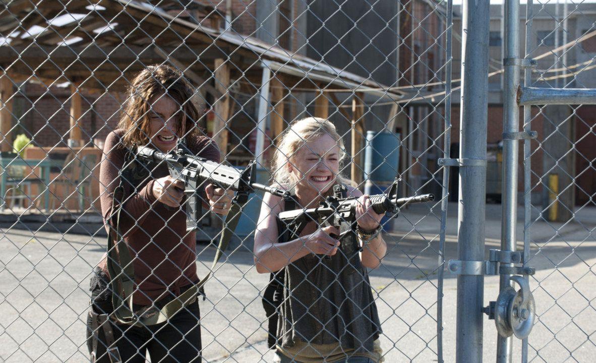 The Walking Dead Hershel Dies | The Walking Dead Season 4: Hershel\'s ...