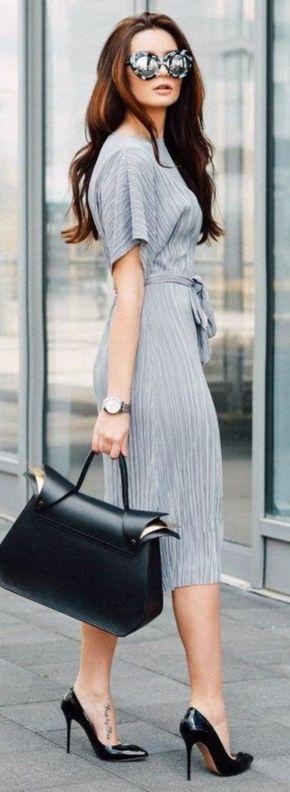 ¿Cómo usar el gris en la oficina y lucir muy chic? - Divina EjecutivaDivina Ejecutiva