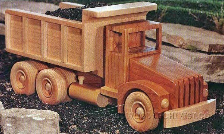Wooden Toy Truck Plans : Wooden truck plans childrens wooden toy plans and projects