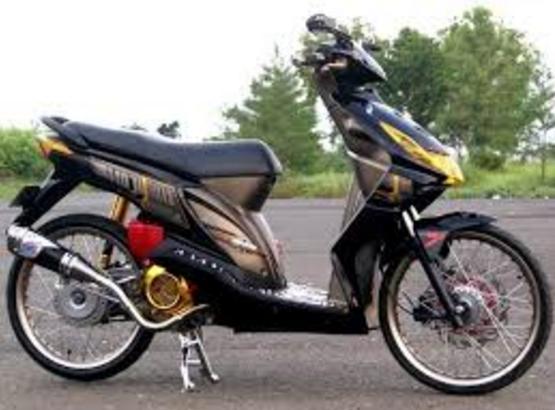 Modifikasi Honda Beat Standar Velg Jari Jari Honda Beats