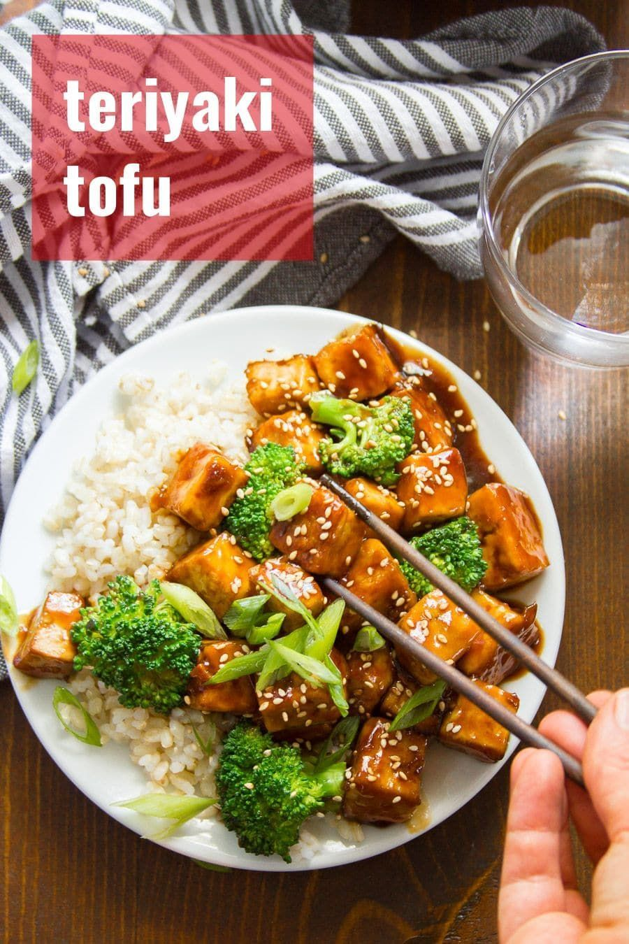 This crispy vegan teriyaki tofu is better than takeout and easy enough for a weeknight dinner! Crispy tofu nuggets are baked (not fried!) and smothered in sticky sweet and savory teriyaki sauce. Serve with rice and steamed veggies for a knock-your-socks-off vegetarian meal. crispy vegan teriyaki tofu is better than takeout and easy enough for a weeknight dinner! Crispy tofu nuggets are baked (not fried!) and smothered in sticky sweet and savory teriyaki sauce. Serve with rice and steamed veggies for a knock-your-socks-off vegetarian meal.