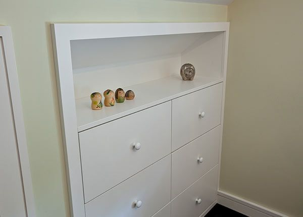 A Cute Little Built In Dresser One Our Custom Small Home Renovations