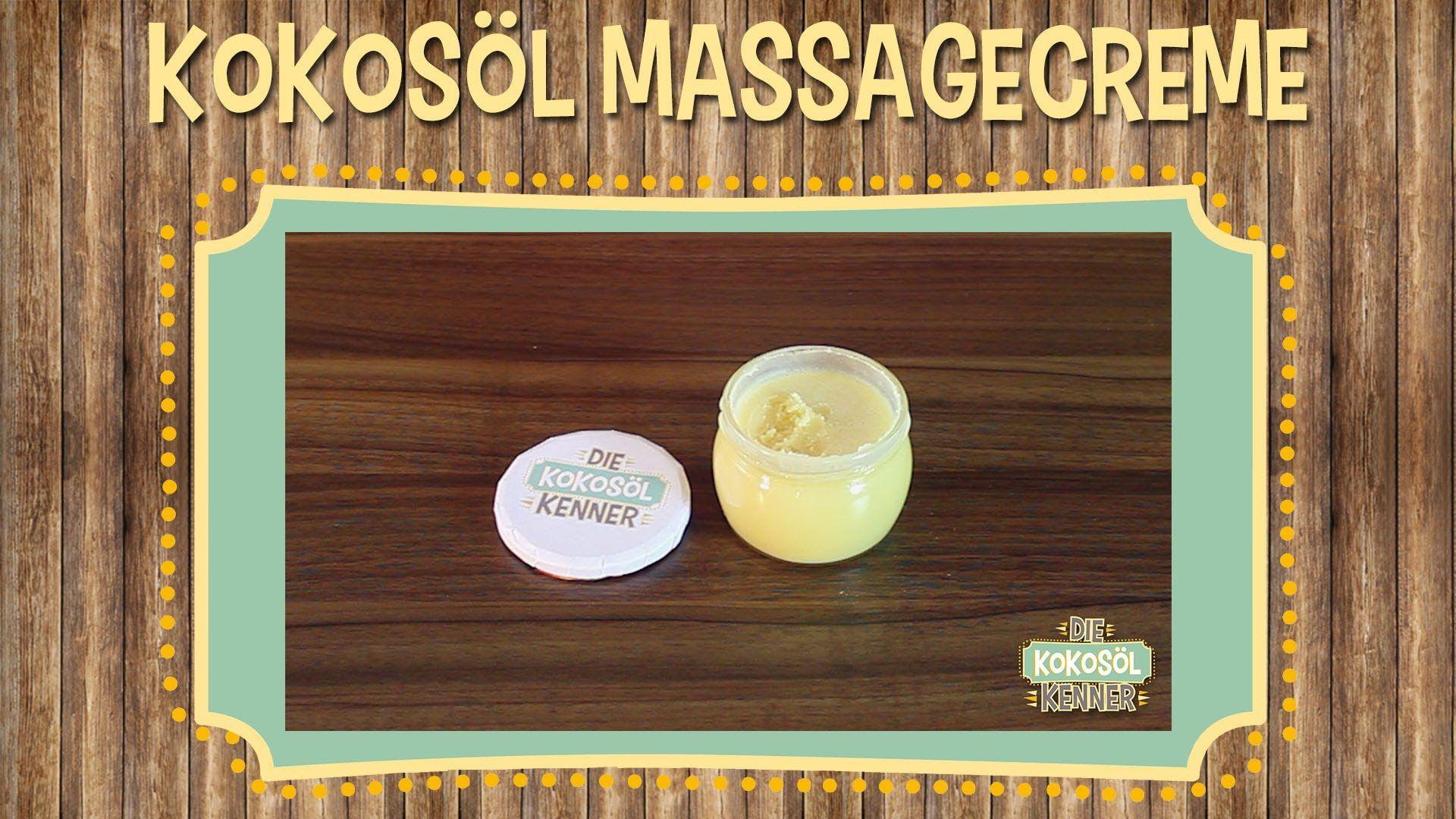 Massagecreme selber machen