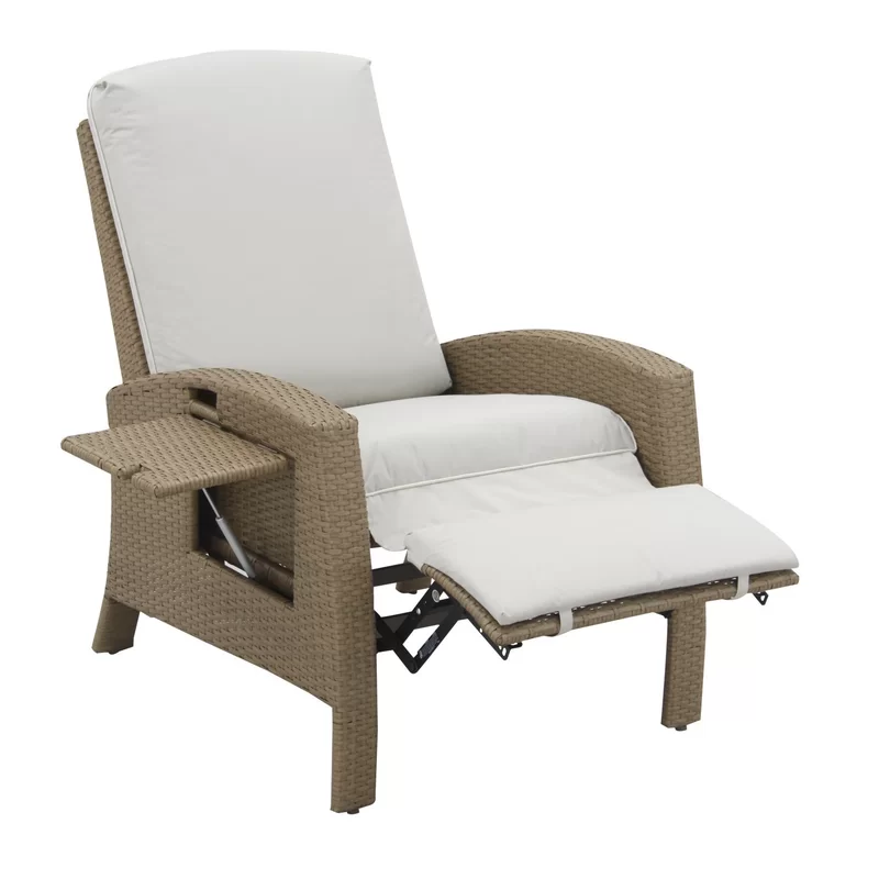Crestline Patio Chair With Cushion Lounge Chair Outdoor Patio Chairs Outdoor Recliner