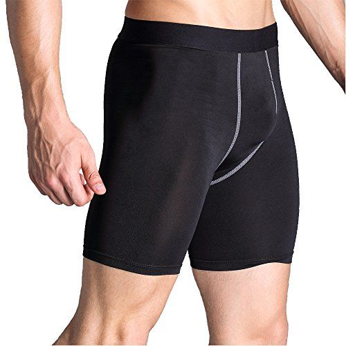 AMZSPORT Pantalon de Sport Homme Short Legging de Compression S/échage Rapide Baselayer Pantalon