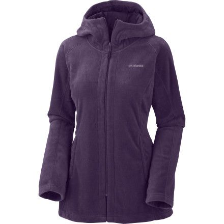 Columbia Benton Springs Long Hooded Fleece Jacket - Women ...