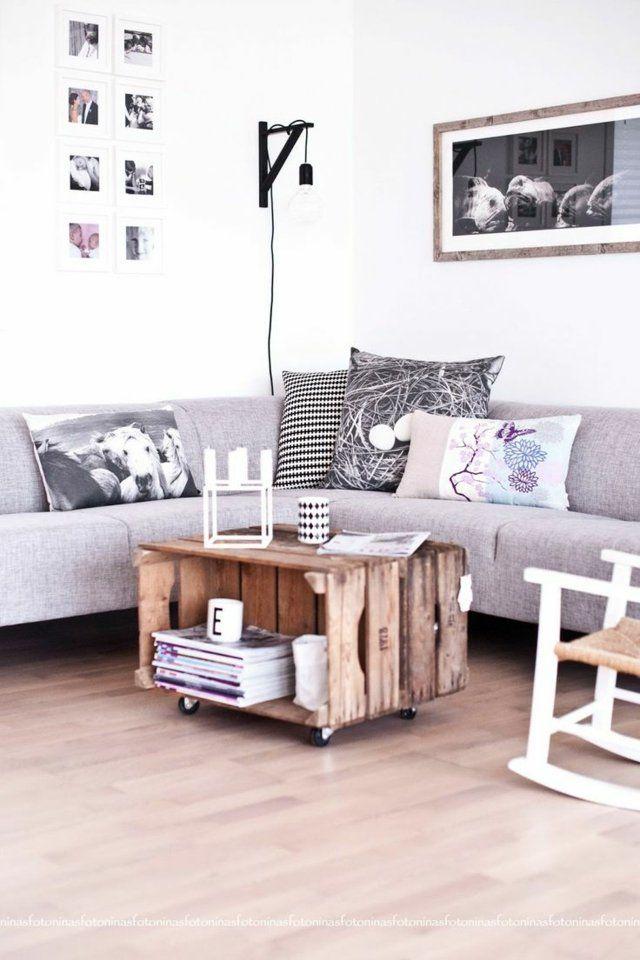 Photo of Boîtes en bois: faites un petit décor loft