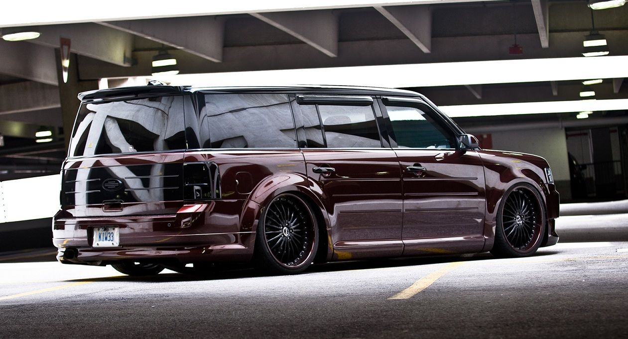 Vip Style Is Possible With A Flex Ford Flex Ford Suv Custom Cars