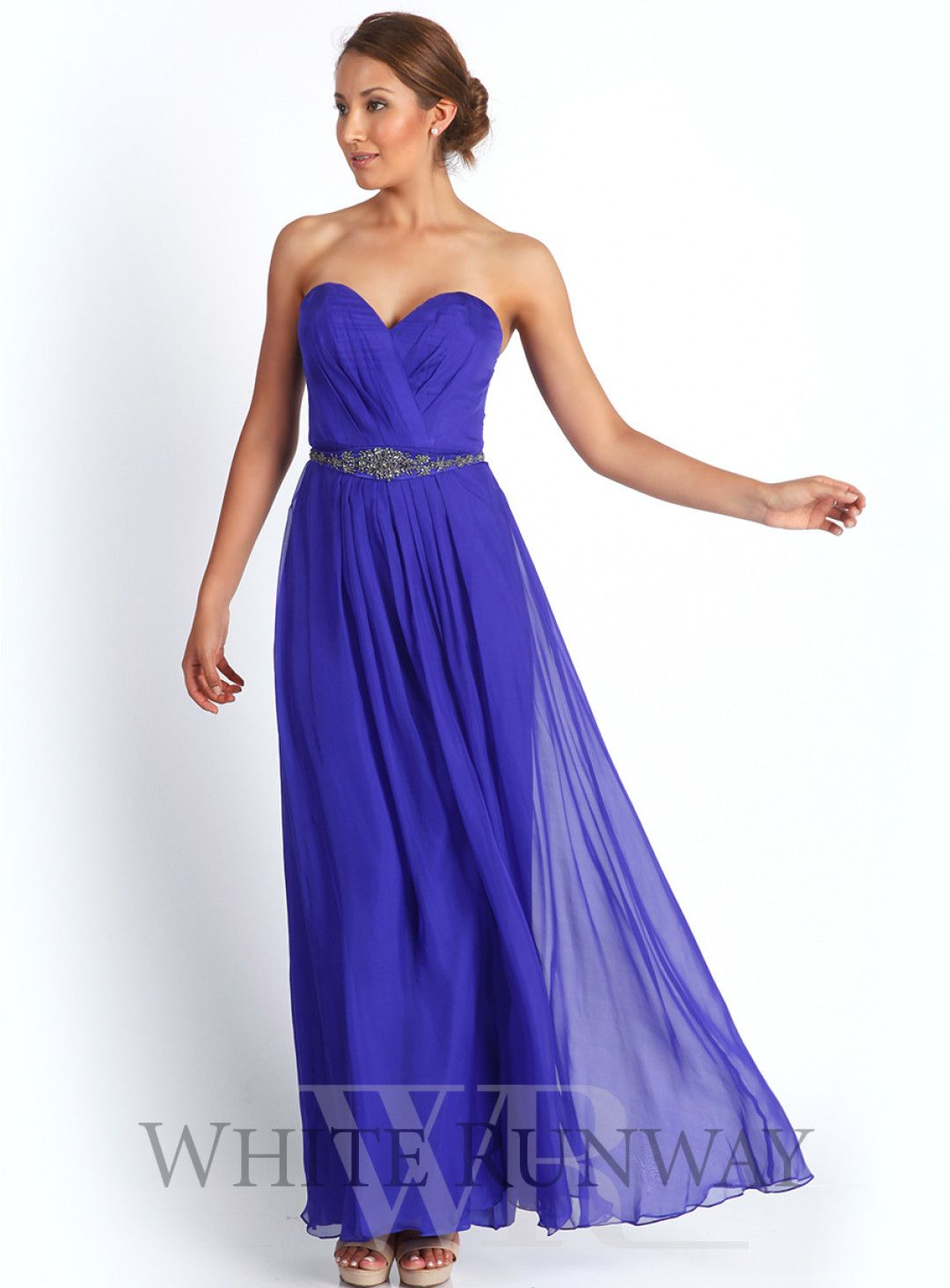 Bella Silk Maxi Dress. A stunning floor sweeping gown by Truese. A ...