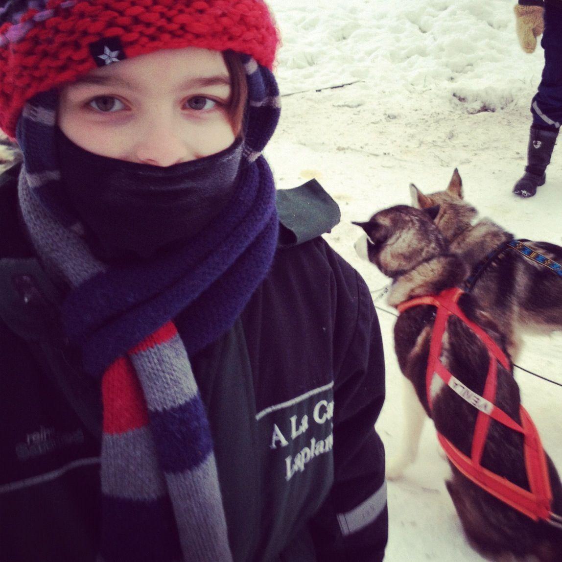 Cole in Lapland