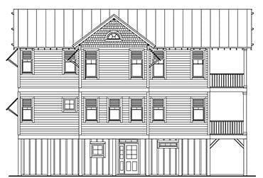 Elevated Piling and Stilt House Plans Page 46 of 55 Coastal House Plans from Coastal Home Plans