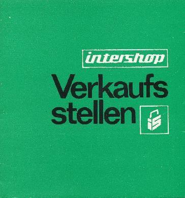 """DDR Museum - Museum: Objektdatenbank - Broschüre """"Intershop Verkaufsstellen """"    Beitragsmarken """"DTSB"""" Copyright: DDR Museum, Berlin. Eine kommerzielle Nutzung des Bildes ist nicht erlaubt, but feel free to repin it!"""