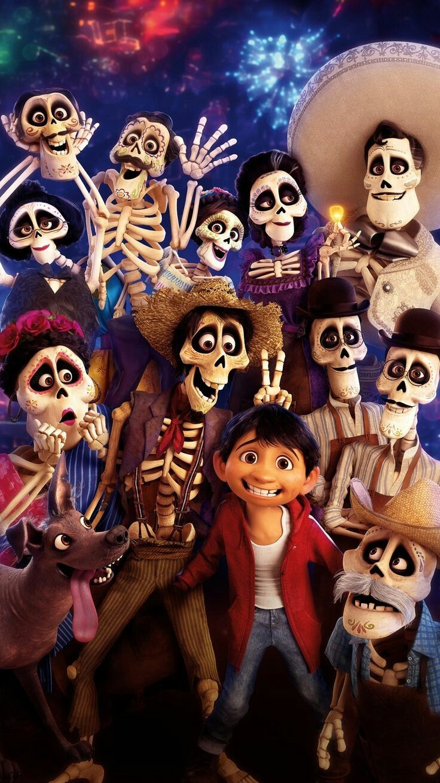 Coco Pixar Disney tapete