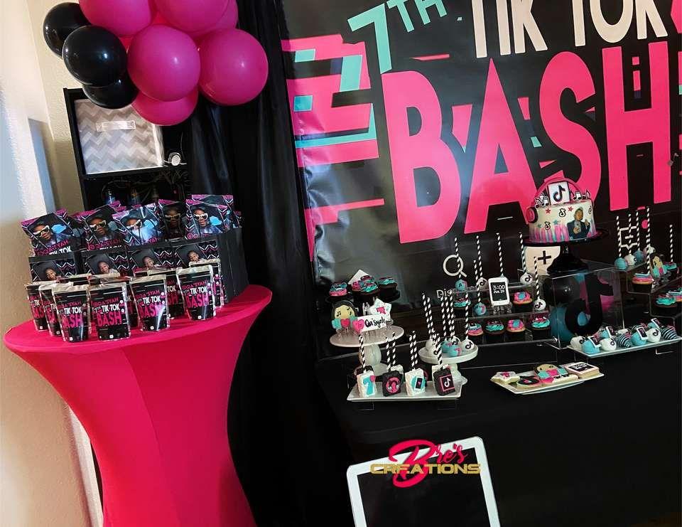 Tiktok Birthday Party Ideas Birthday Surprise Party 12th Birthday Party Ideas Girly Birthday Party