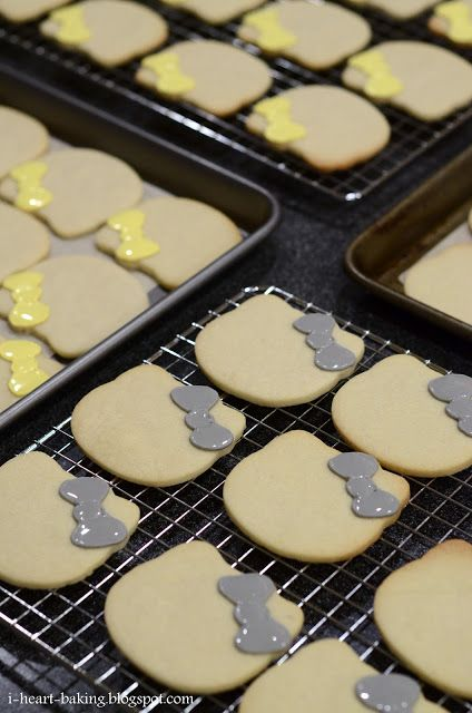i heart baking!: hello kitty cookies