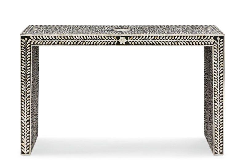 Navarro Console Table W 48 1/8   D 16 1/8