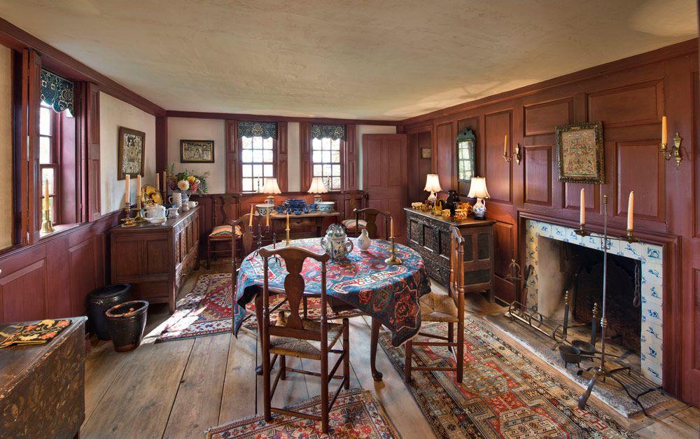 17th Century American Interiors Kelton House Farm