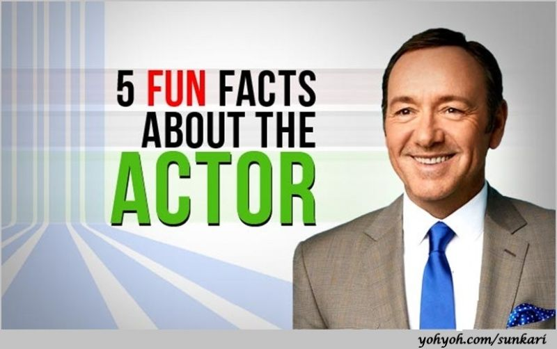 Funny Kevin Spacey Fowler 5 Fun Facts about the actor