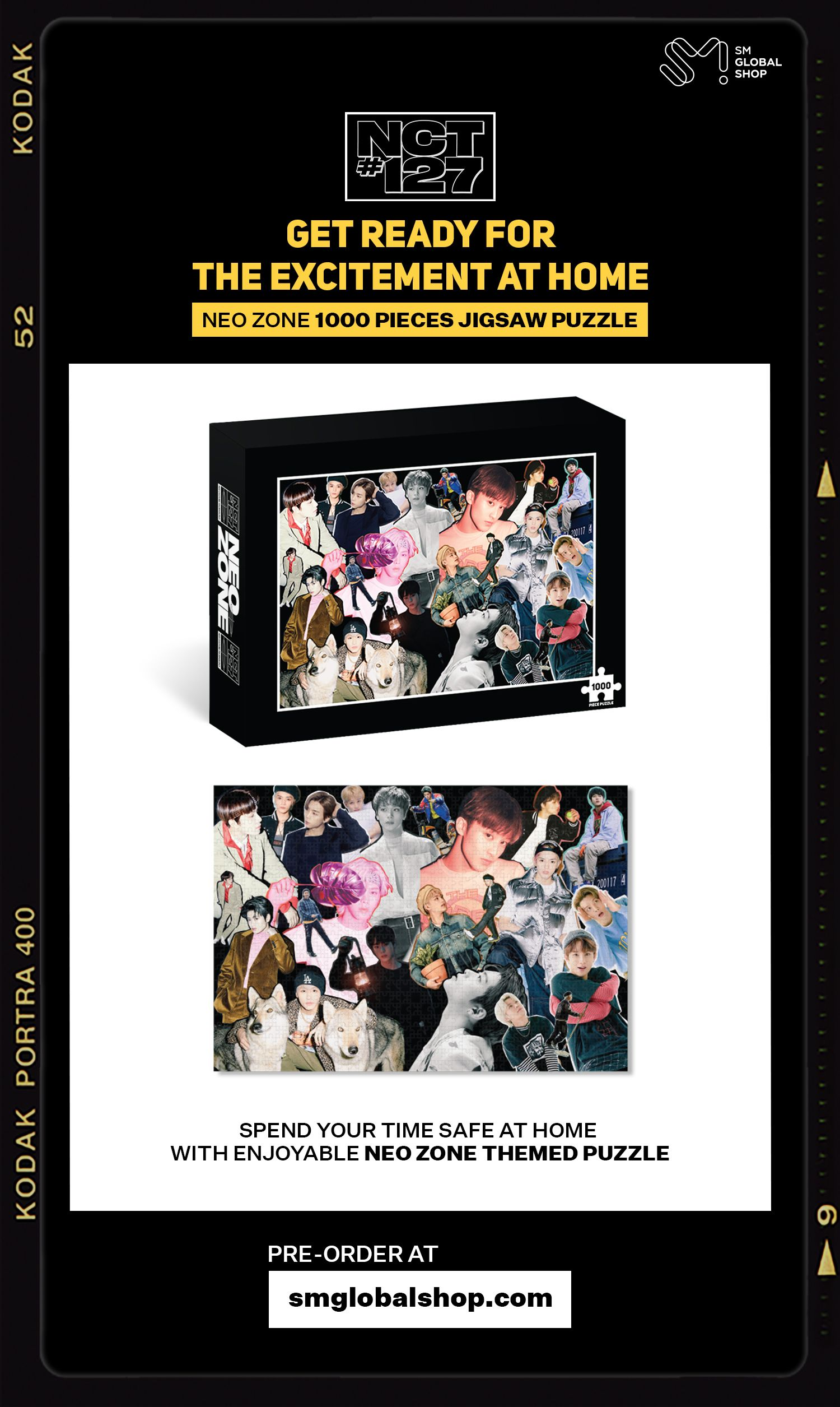 Nct 127 Neo Zone 1000pcs Puzzle Nct 127 Nct Neo