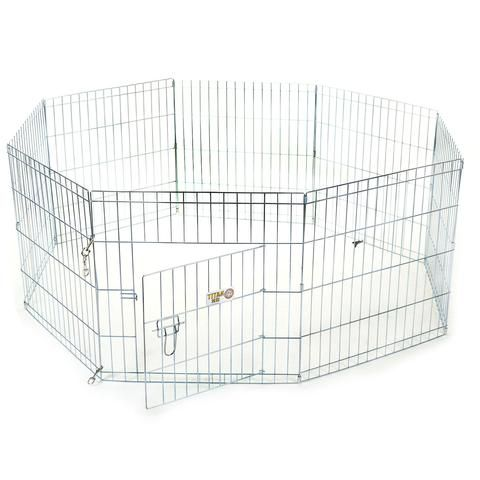 "24"" Exercise Kennel Dog Pen"