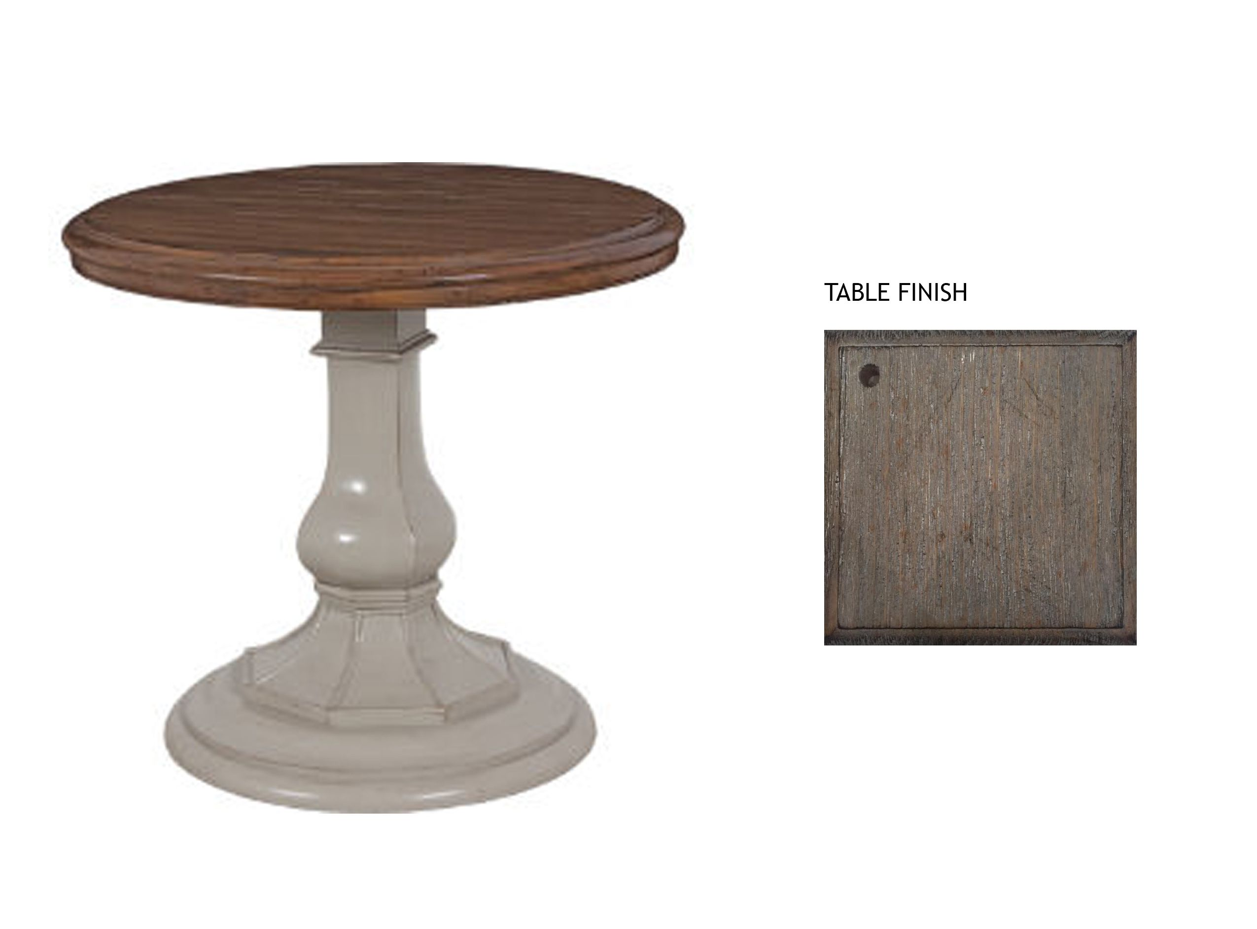 GREAT ROOM END TABLES-  Lorts custom end table in slate finish