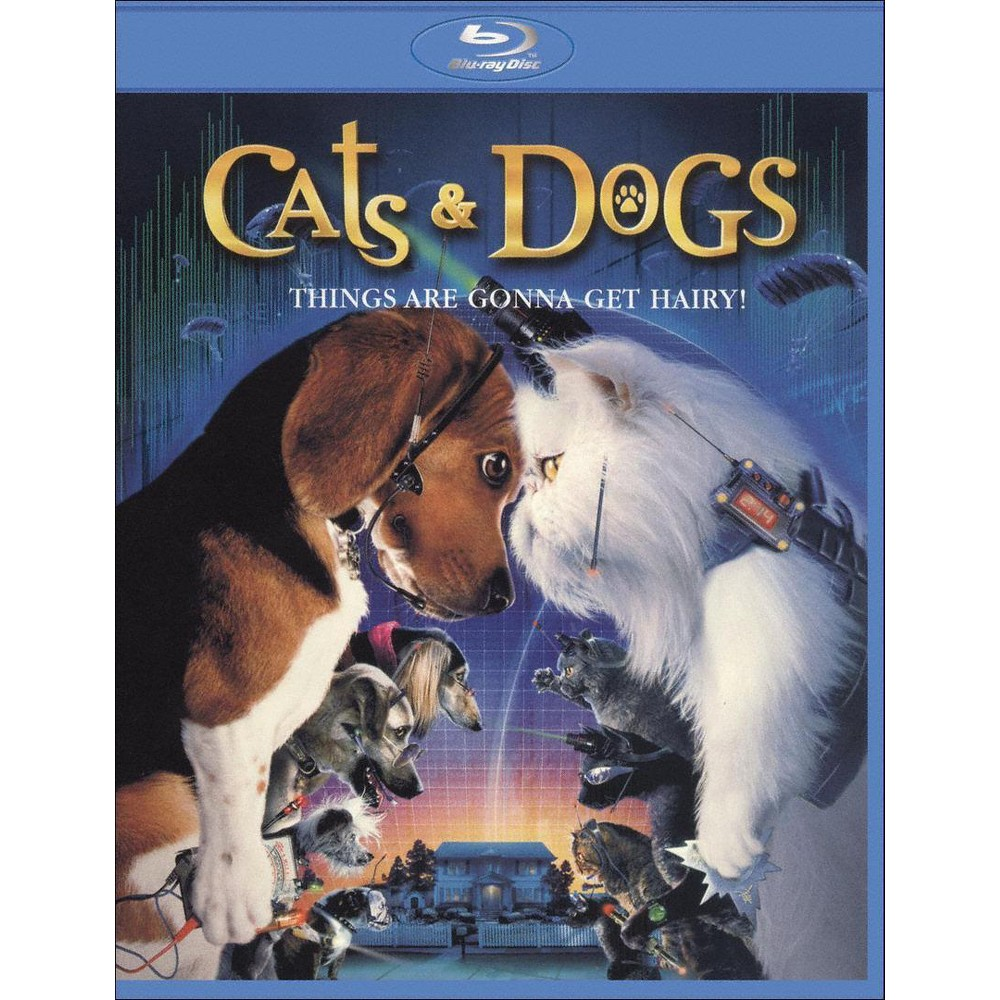 Cats Dogs With Movie Cash Blu Ray Cat Movie Dog Movies