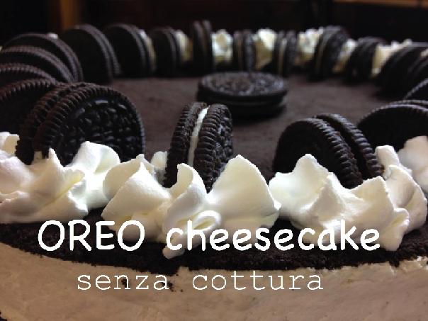 Prima del Caffè Soddisfazioni in cucina: OREO CHEESECAKE senza cottura con video ricetta