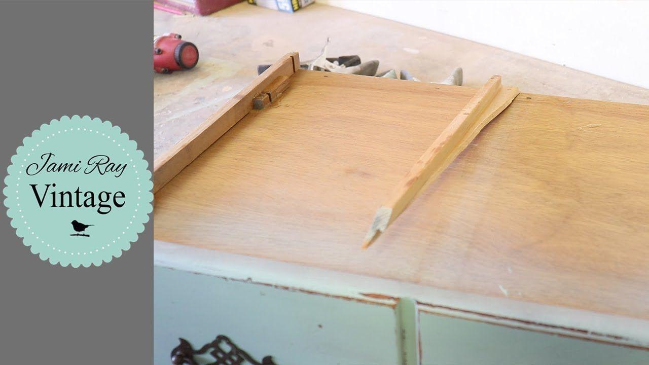 How to repair dresser drawers drawer slides drawer