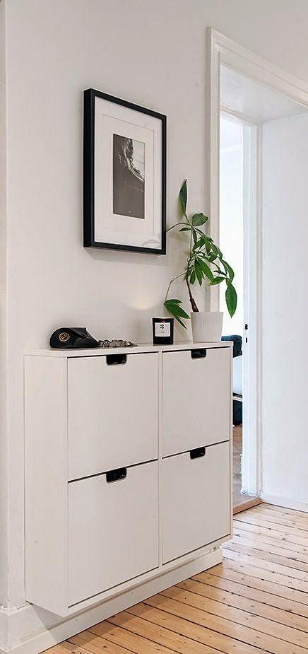 blog de decoração - Arquitrecos: Soluções simples para organizar e decorar a entrada social.
