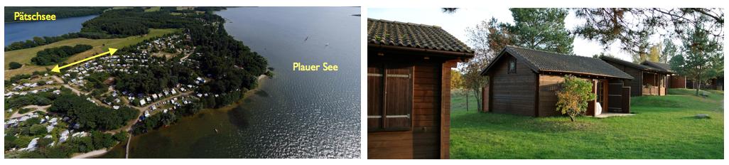 Mieten Sie Ihr Häuschen am See und verbringen Sie Ihren Urlaub in einem unserer gemütlichen Blockhäuser mit eigenem Bad und Küche sowie zwei Terrassen und großem Garten.   http://www.zweiseen.de/mietobjekte/blockhaus/