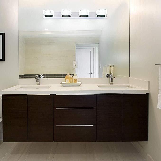 KAI Crystal Vanity Light Bathroom Lights Fixture LED Make ...