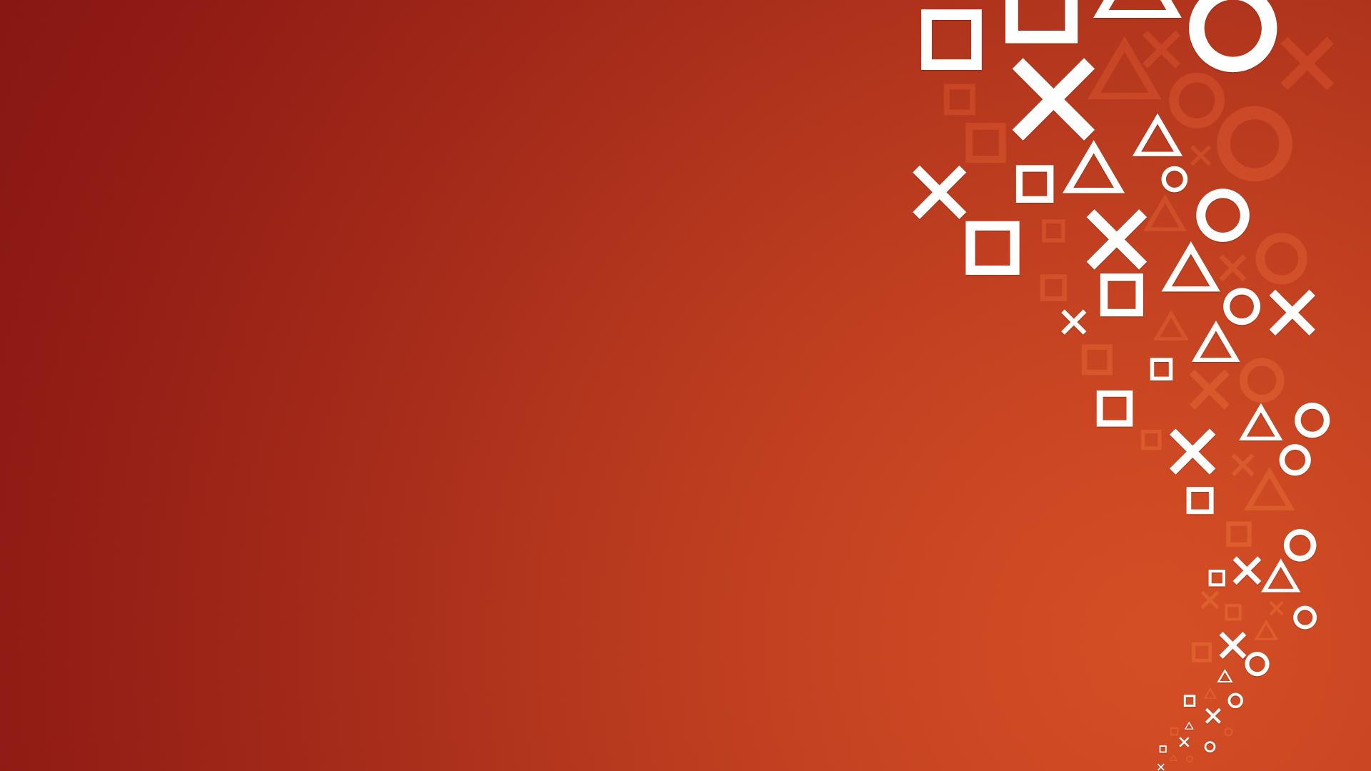 PlayStation 4 Orange HD Walldsfsdfaper c Playstation