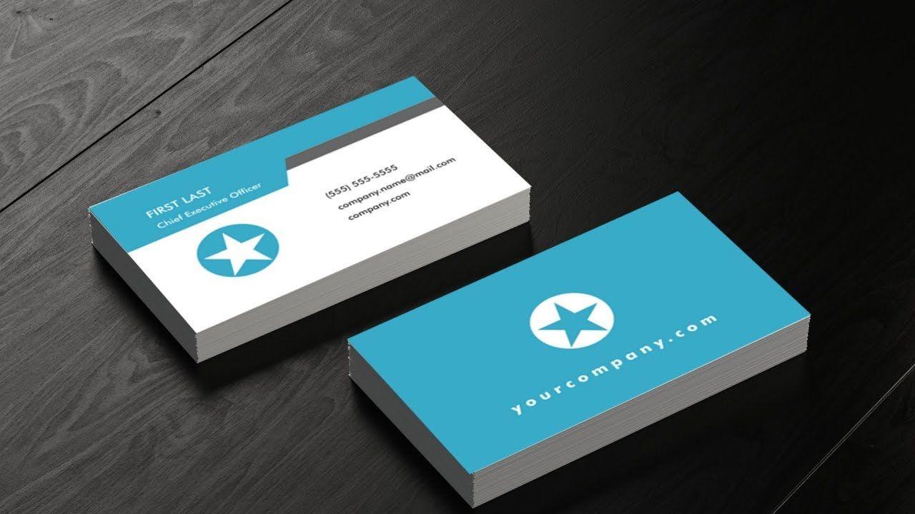 Inkscape Business Card Setup Tutorial Back Front Design Letterhead Design Business Card Design Front Design