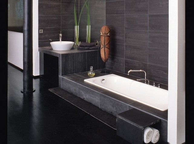 1000 images about salle de bain on pinterest belle square meter and grey bathrooms - Belle Salle De Bain Moderne