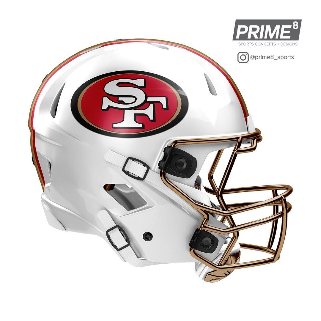 95ccf525 San Francisco 49ers | 49ers | Cool football helmets, Football ...