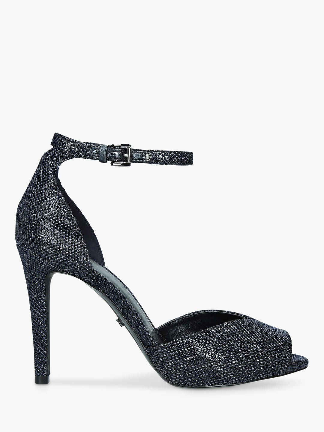 MORRELL Platform High Heel Sandal black | Dune London
