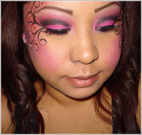 Halloween Makeup: Fairy | Hot pink, Fairy makeup and Makeup