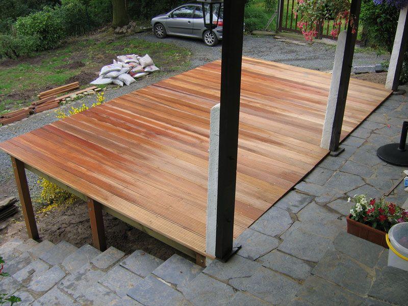 terrasse bois pilotis kit diverses id es de conception de patio en bois pour. Black Bedroom Furniture Sets. Home Design Ideas