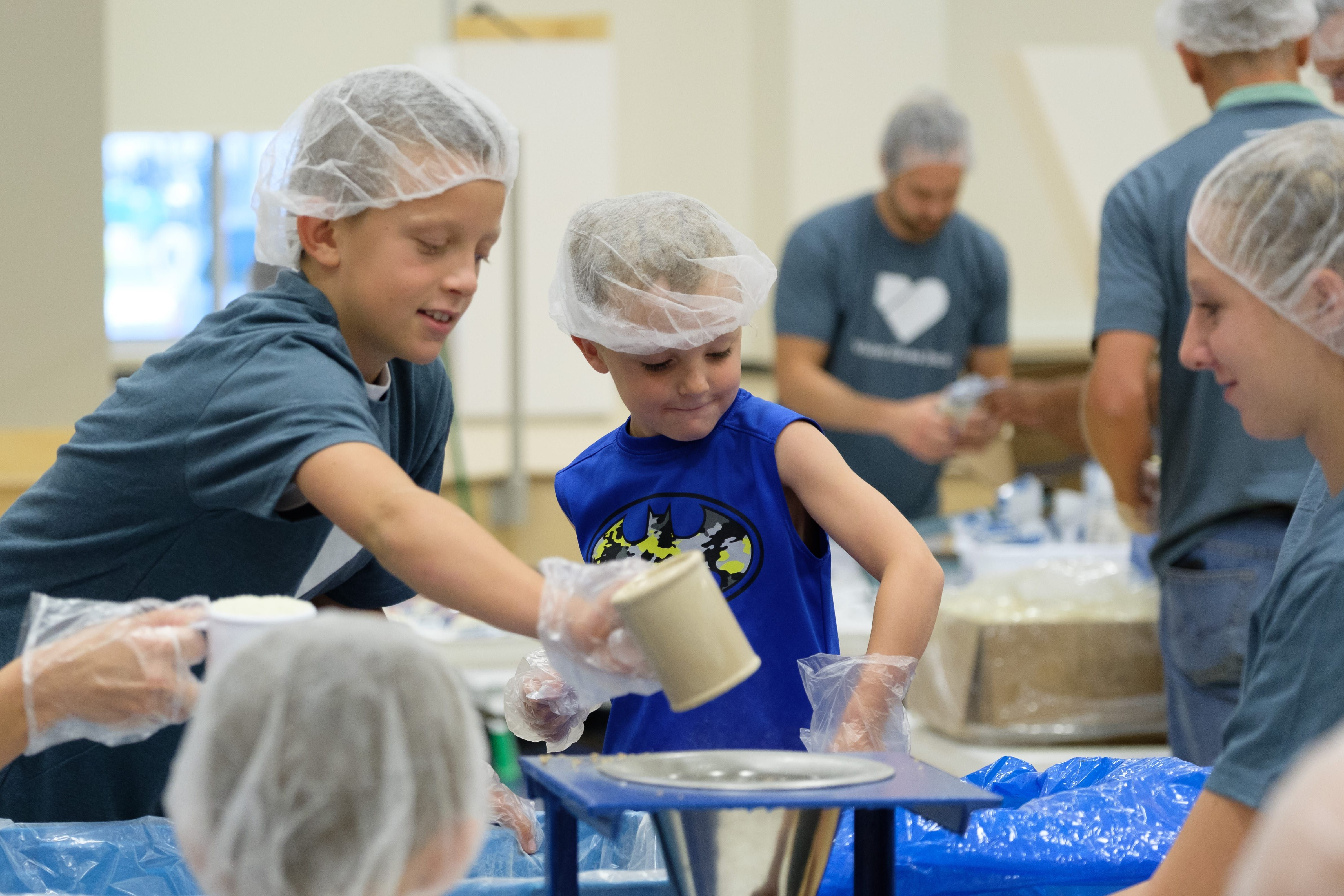 How Children With Disabilities Came To >> Vivint S Annual Feed My Starving Children Event Employees And Their