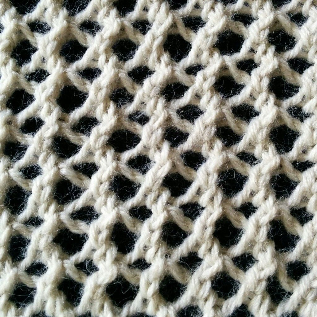 mesh lace stitch | knitting | Pinterest | Stitch, Knitting stitches ...