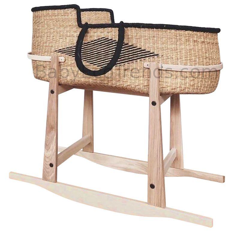 Baba Tree Basket Rocking Stand Usa Made Moses Basket Stands