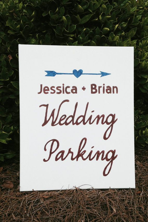 Wedding Parking Sign By Alovegreaterthanlife On Etsy Parking Signs Wedding Wedding Signs