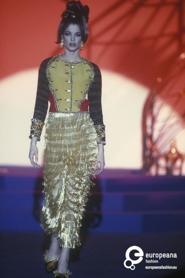 Gianni Versace, Spring-Summer 1992, Couture