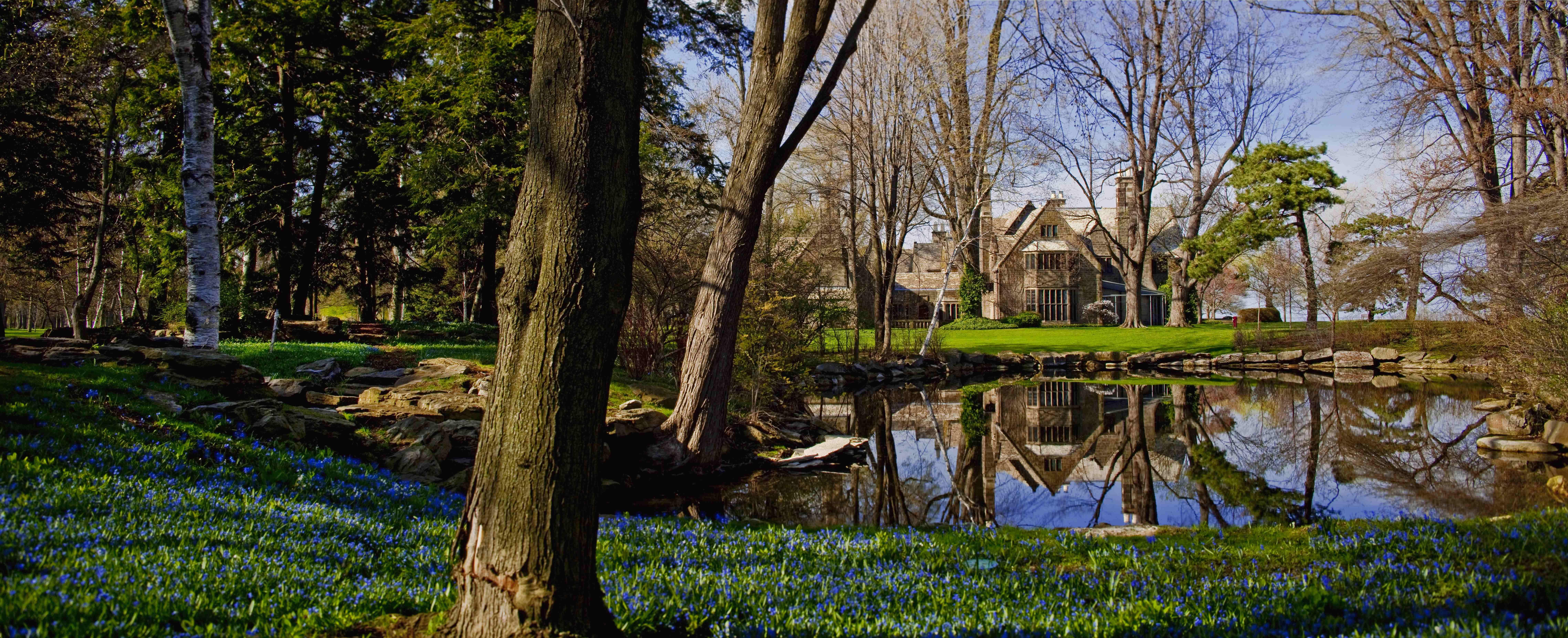 Ford House Lagoon Gorgeous Gardens Beautiful Gardens