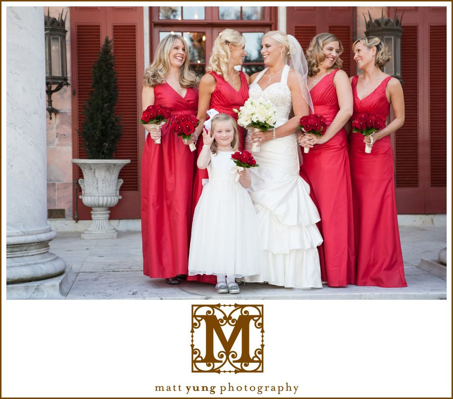 Gorgeous Tate House wedding at the pink marble mansion ...