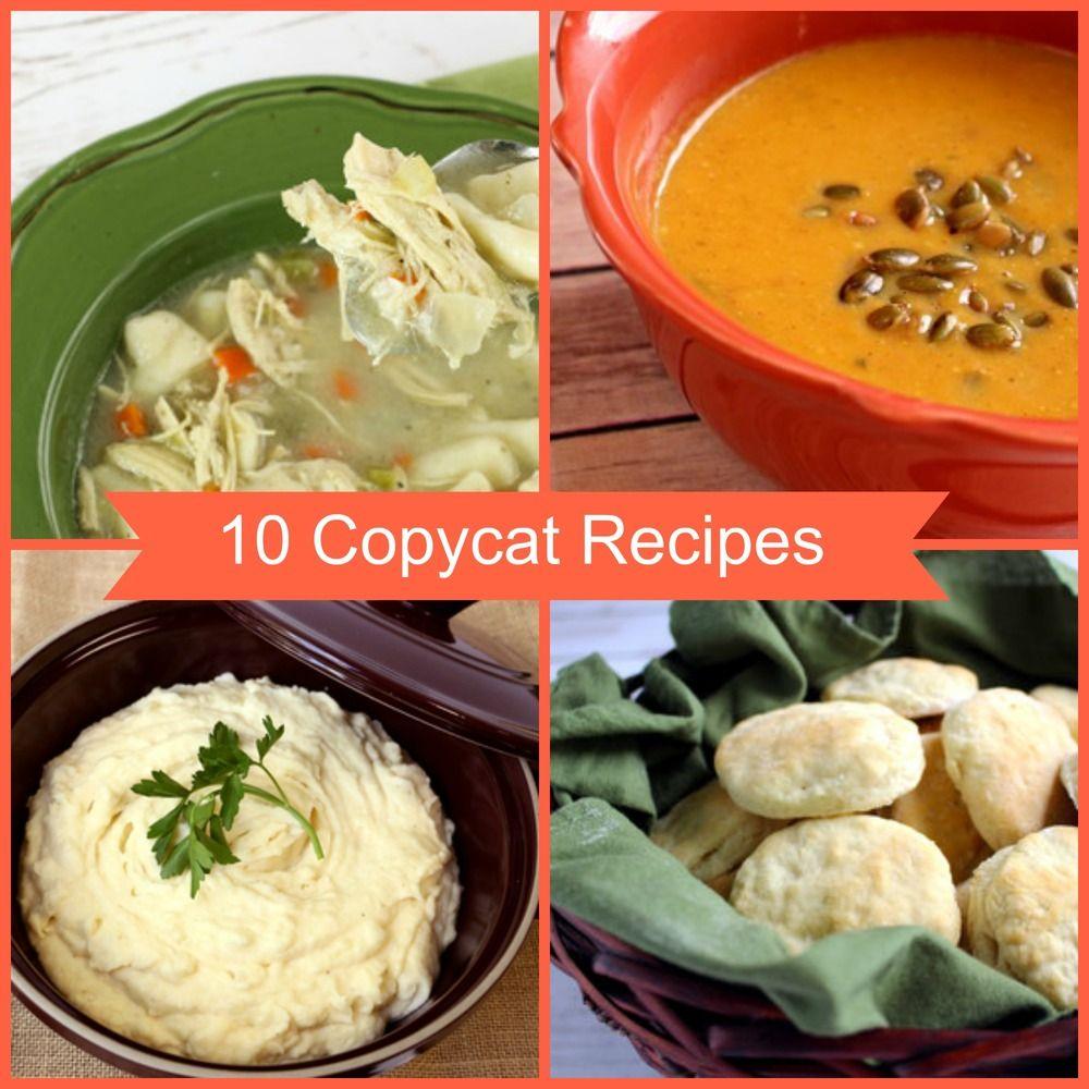 10 Copycat Recipes from Restaurants & Brand Name Recipes ...
